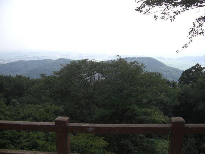 太平山の南側には謙信平!陸の松島と呼ばれています!!