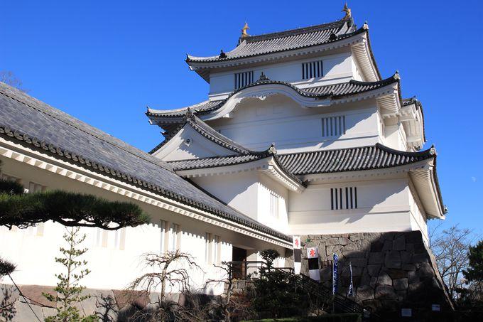 歴史博物館として再現された大多喜城!白壁が青空に映えています