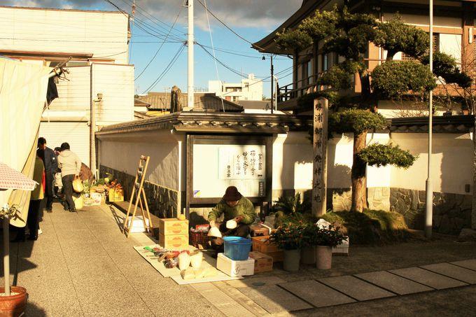 勝浦の朝市は能登輪島・飛騨高山と並ぶ日本三大朝市!その歴史は400年以上