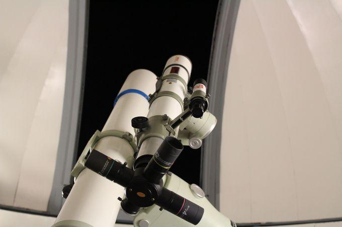 夕食後は、「貝のクラフト教室」「天体望遠鏡観察会」が待っています