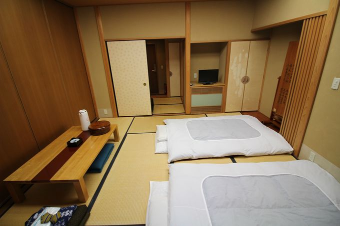 大小の浴場にはシャンプーやドライヤーも完備!古峯神社の「お籠り」は快適!!