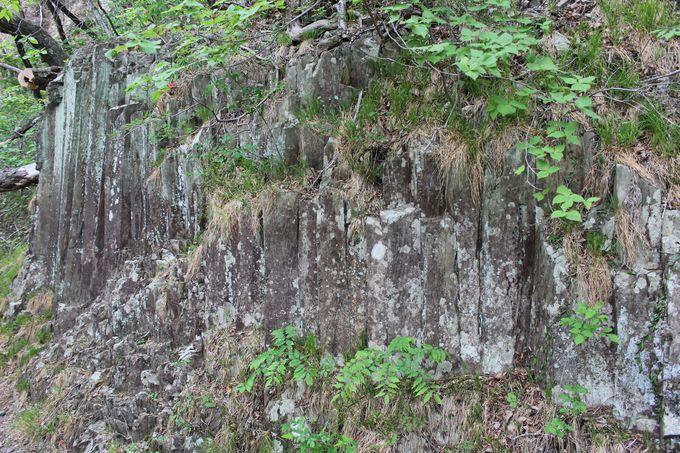 青い絶壁の「青龍峡」柱状節理、五光岩、兎はねと見所だらけ