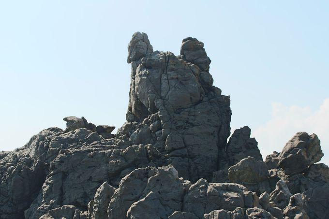 千葉県で最も古い地層は中生代ジュラ紀!名勝「犬岩」と「千騎ケ岩」には義経伝説も