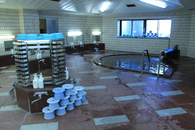 興雲閣のお風呂は大滝温泉三峯神の湯!塩化物泉で体はポッカポカ