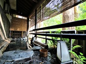 ラジウム温泉の貸切風呂と優しい湯治食の宿!新潟県栃尾又温泉「自在館」