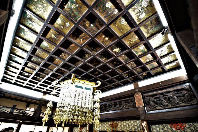 鮮やかな天井板絵や足利尊氏公木坐像の善徳寺!参拝は「特別公開日」で