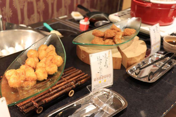 味噌やコンニャク、里芋の朝食!狭山抹茶ケーキもお勧め