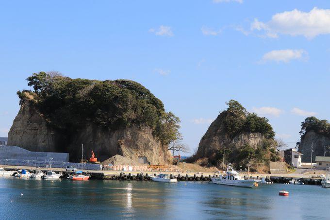 のどかな雰囲気の港町に湧く「平潟港温泉」