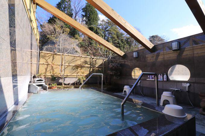 平潟港温泉の大浴場にコラーゲンの露天風呂!貸切風呂は4つ
