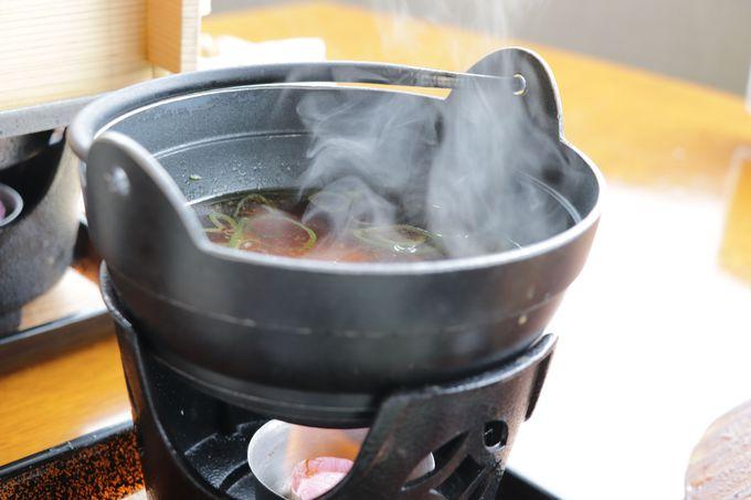 朝食は温泉せいろ蒸と熱々のすいとん汁!山と川の幸でご飯お代わり