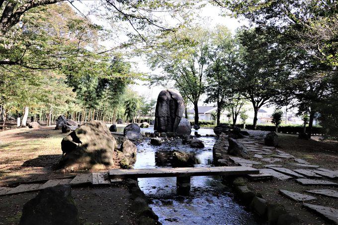 ネーブルパークは関東平野の真ん中にある公園