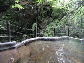 松川渓谷が迫る絶景露天風呂!長野・山田温泉「風景館」