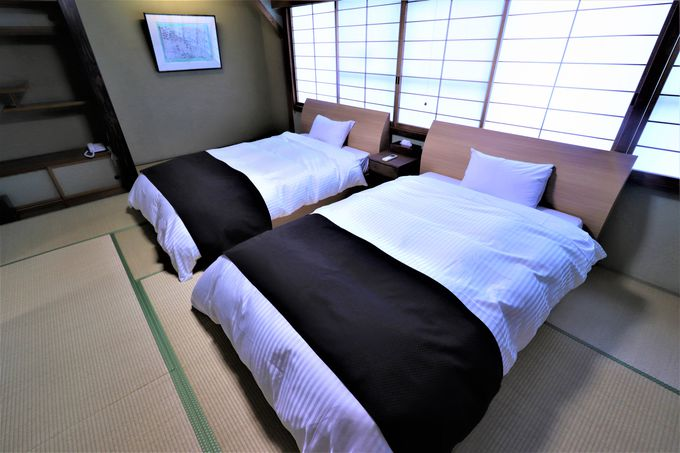 6つの和モダン!スイートルームは客室風呂も源泉かけ流し