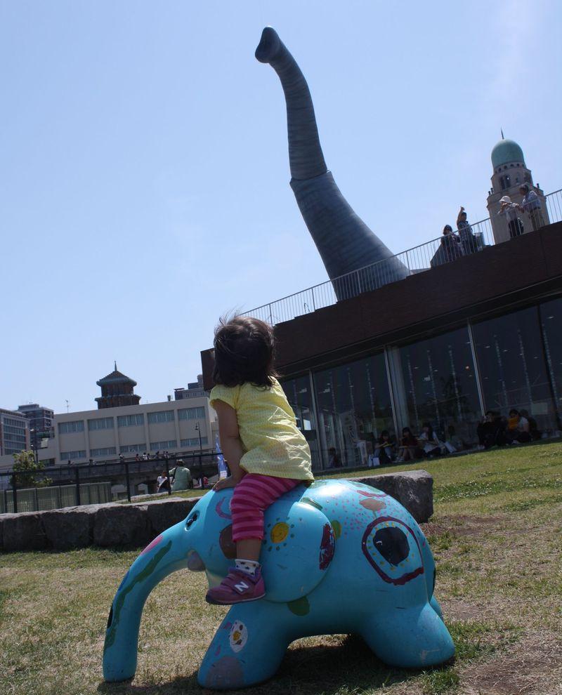赤ちゃん連れで観光!象の鼻パーク&大さん橋のある横浜ベイエリア!