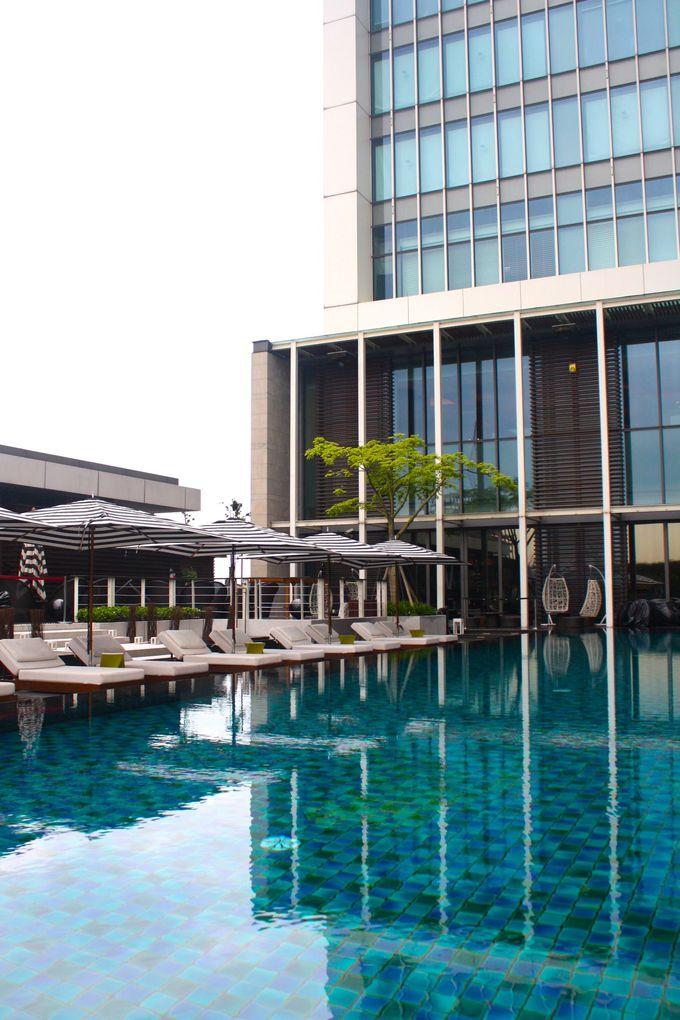 水着を忘れずに!温暖な台湾でプールも満喫!