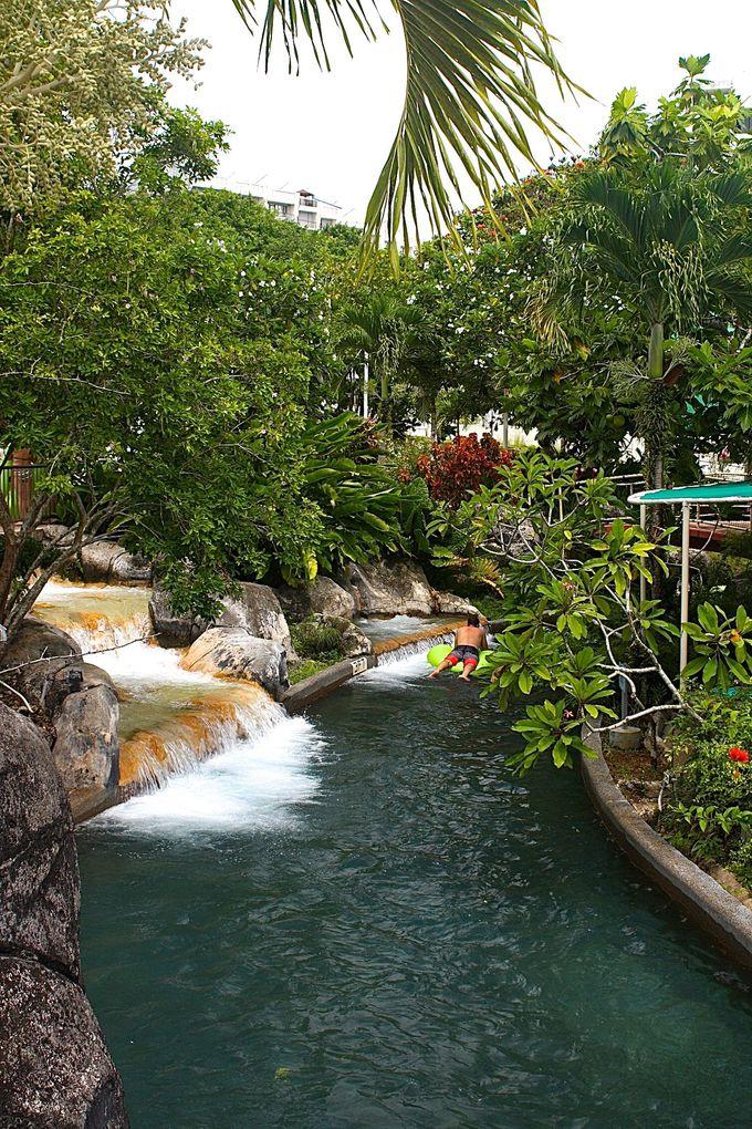 水遊びは「ターザ ウォーターパーク」が場所も値段もちょうどよし!