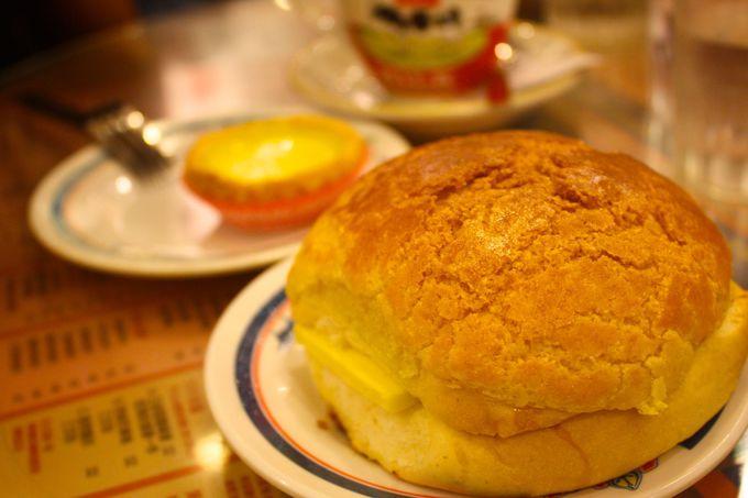 日本には無い味、無い食べ方!「金華冰廳」のパイナップルパン!