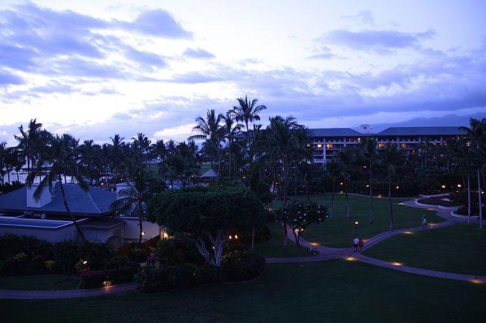 ハワイ島の自然がもたらす、時間の移り変わりを楽しめるホテル