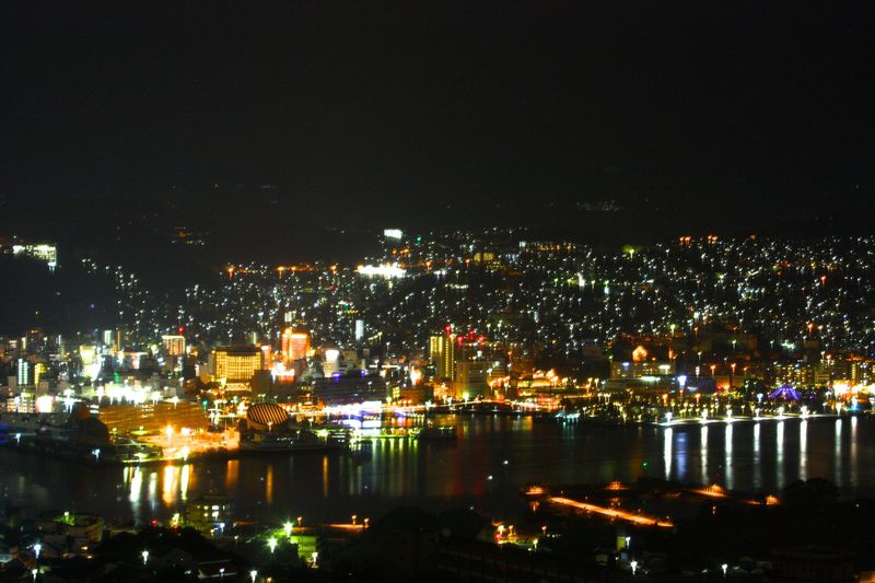 長崎市 和食 夜景