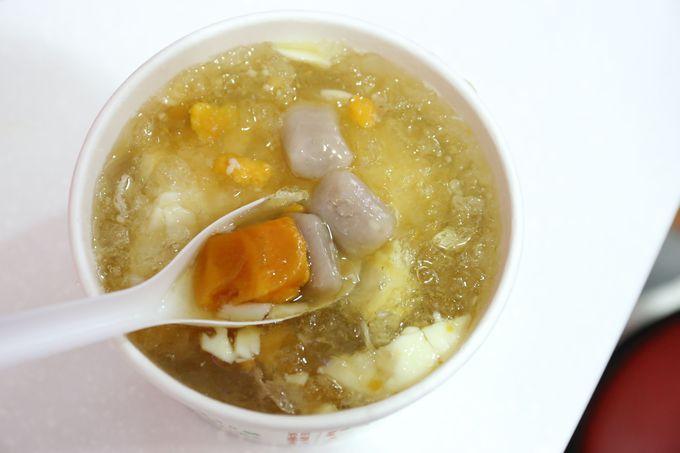甘めシロップと食べ応えある豆花「東區粉圓」