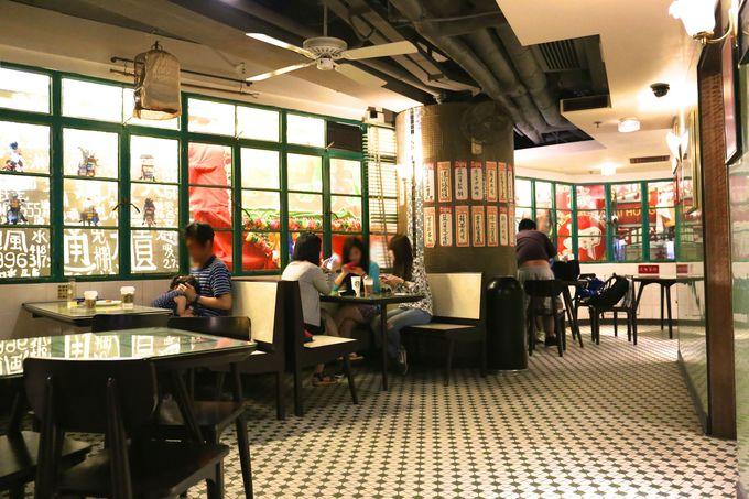香港の「冰室」を完璧に再現したダデルストリート店