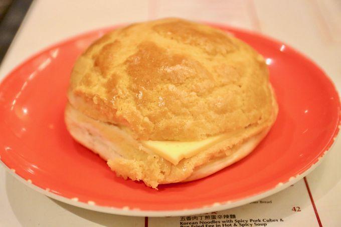 軽やかでかなりライトなパン!お茶菓子感覚で食べる「十字冰室」