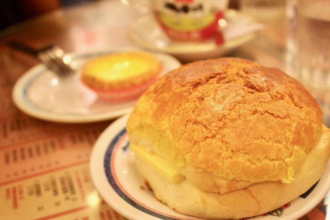 パイナップルパン本来の「おいしさ」を確かめられる「金華冰廳」