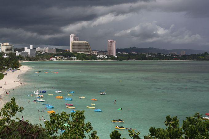 乾季・雨季・台風シーズンがあるグアムの気候