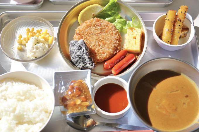 里山食堂では、こんな給食を食べられます!