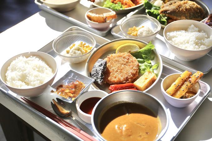 懐かしい学び舎で食べるなら、やっぱり給食!