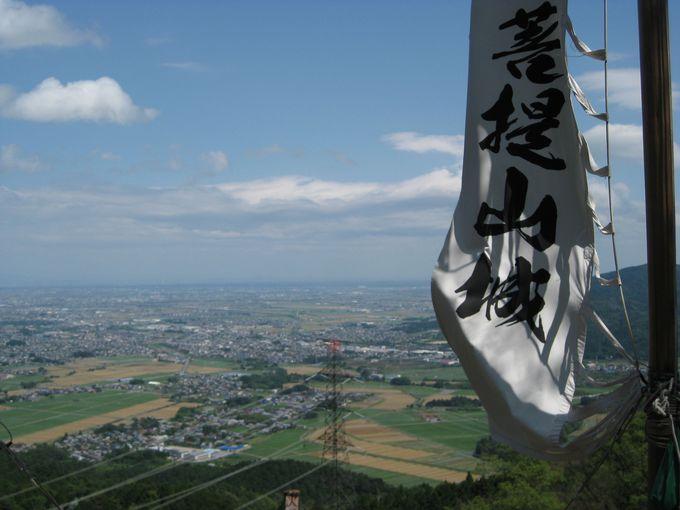 半兵衛の居城〜菩提山城跡に登る