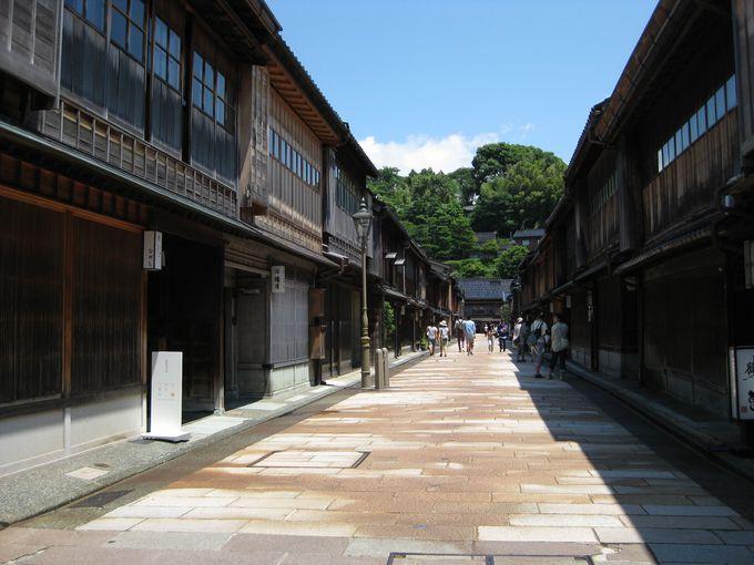 金沢最大の茶屋街!「ひがし茶屋街」