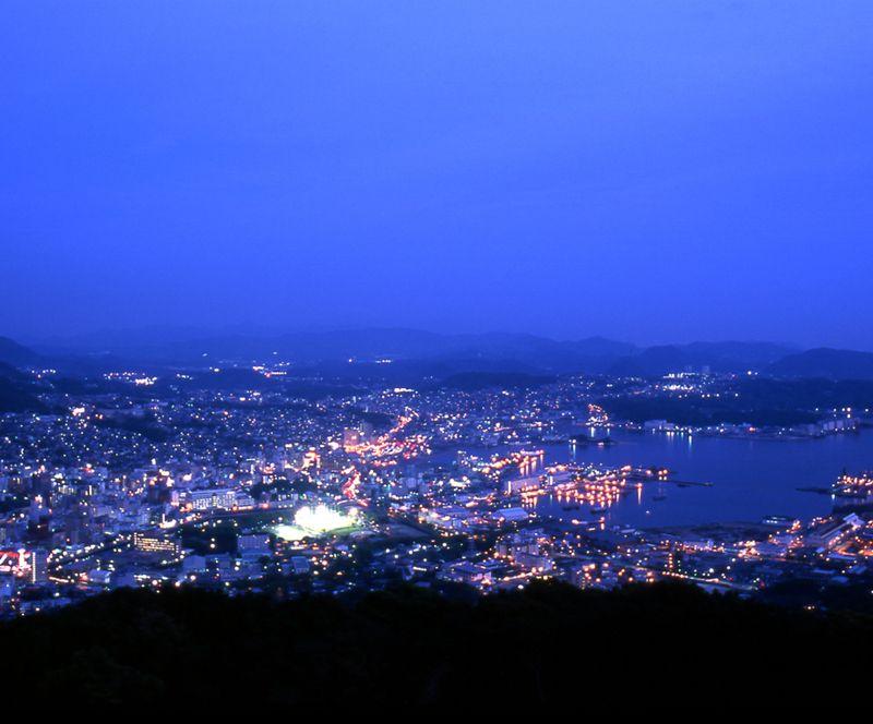 日本夜景遺産選定のあま〜い夜景を見ながらリラックス♥