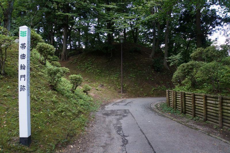 御隅櫓に登ったあとは城内の散策を
