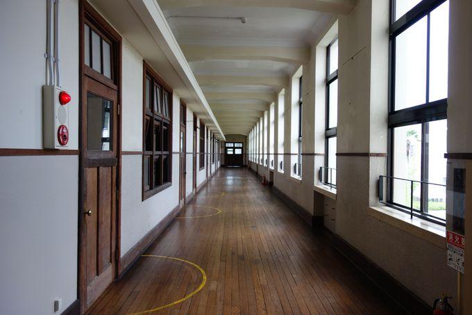 どこか懐かしさを感じる校舎