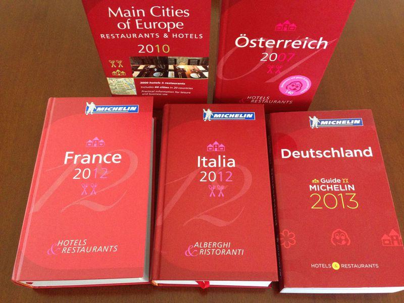ミシュランガイドは旅のプロも愛読〜ヨーロッパ旅行をもっと深く〜