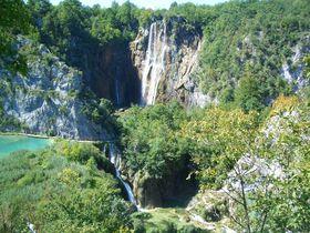 クロアチア最大級の観光スポット、プリトヴィツェ湖群国立公園