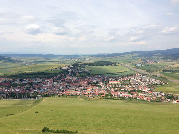 難しいことは別にして、城からの眺めが最高