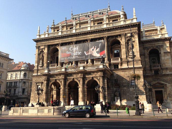 ハンガリー国立歌劇場はハンガリー唯一のオペラ座