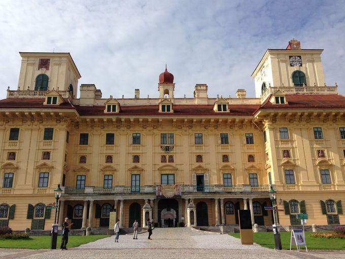 アイゼンシュタットはハンガリー大貴族エステルハーズィ家の領地