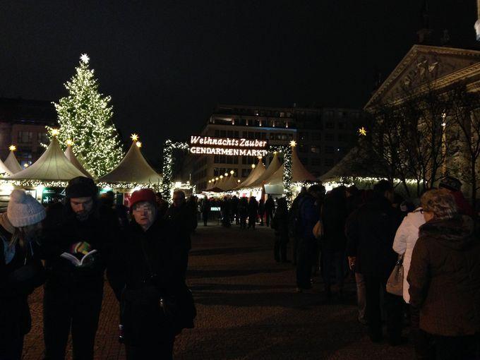 ベルリンで最も美しい広場 Gendarmenmarkt