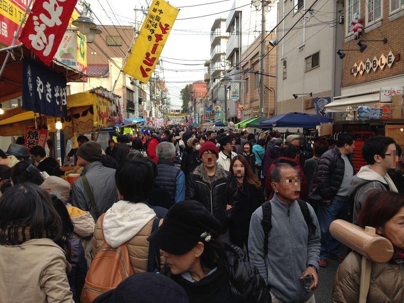 日本最大級にして歴史的フリマ「世田谷ボロ市」へGO!