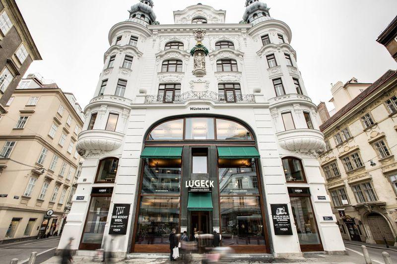 ウィーン名物シュニッツェル超有名店の新業態店「LUGECK」