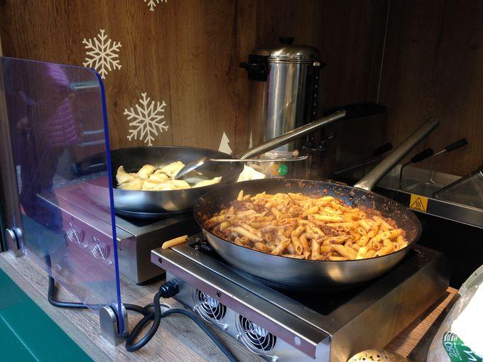 チロルの郷土料理も充実