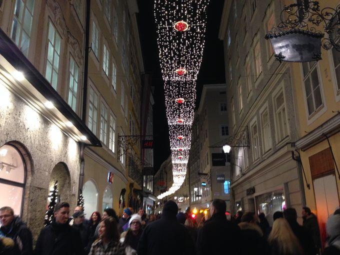 旧市街全体がクリスマスに包まれる・・・
