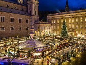 歌声響くモーツァルトの街ザルツブルクのクリスマスマーケット