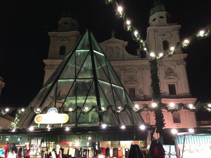 ドーム広場とレジデンツ広場のクリスマスマーケット