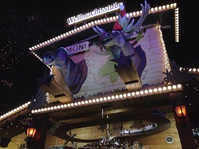 バルフュッサー広場のクリスマスマーケット