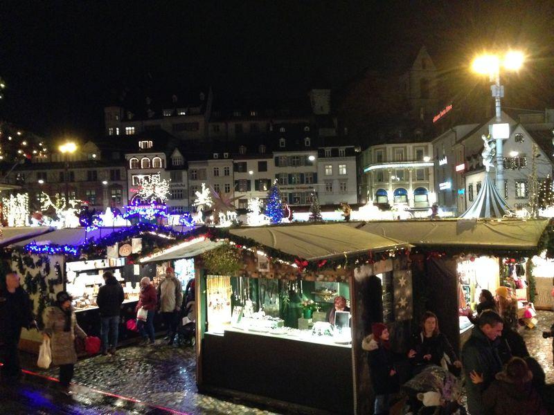 迫力系とほのぼの系!スイス・バーゼル二つのクリスマスマーケット