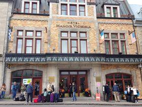 ケベック・シティ旧市街「ホテル・マノワール・ヴィクトリア」観光にも便利